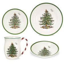 Spode Christmas Tree Mug And Coaster Set by Spode Christmas Tree 12 Piece Set Christmas Lights Decoration