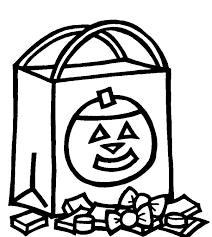 Halloween Candy Coloring Pages 19
