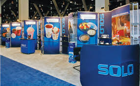 SpashTacular Their Water Park Products Are Very Large So Rather Than Try To Bring Physical Product The Show Exhibit Which Features Moving