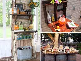 Cheap Patio Bar Ideas by Building Outdoor Bar Ideas 26 Creative And Low Budget Diy Outdoor
