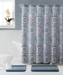 Royal Blue Bath Sets by Royal Blue Shower Curtain Essential Home 15piece Sawyer Bath Set