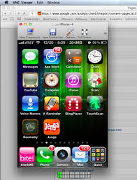 Discover the iPhone Network Capabilities with iPhone VNC clients
