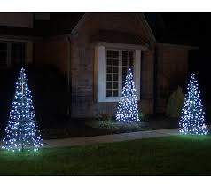 Sears Pre Lit Christmas Trees Instructions by Pre Lit Led 5 U0027 Fold Flat Outdoor Christmas Tree By Lori Greiner
