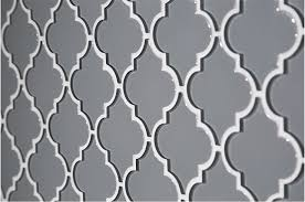 glass arabesque mosaic gray 8mm tile
