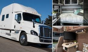 100 Custom Truck Sleepers Ing Firms Hope To Fill Driver Shortage By Pimping Out