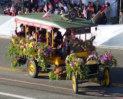 Pasadena Mayor Terry Tornek Packed His Family Into A 1924 Model TT Truck Originally Produce And Then Jitney 5 Cent Bus The Vehicle Served As