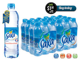 500ml Bottled Alkaline Water Saka 24 Case