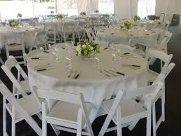 White Resin Garden Chairs Tent