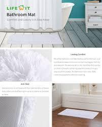 Bathroom Rug Runner 24x60 by Amazon Com Lifewit 17