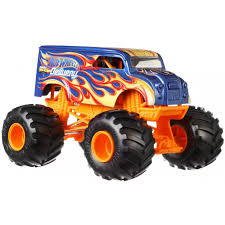 100 Trucks And Wheels Hot Monster 124 Scale Dairy Delivery Vehicle