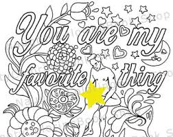 Funny Valentine Gift Naughty Sexy Valentines Day Coloring Page