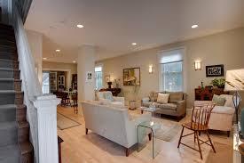 interior farmhouse living room decorating with sconces interior