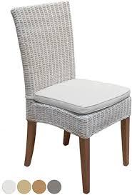 casamia rattanstuhl cardine weiß esszimmer stuhl