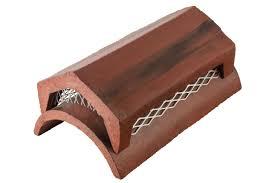 gas vent ridge roof tiles