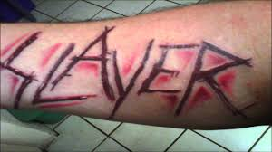 Slayer Tattoos Slayer S Scarifications Postmortem