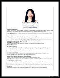 Sample Resume For Nurses Newly Graduated As Well Fabulous Nurse
