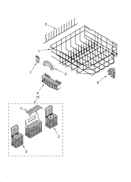 Kenmore Dishwasher Model 665 Parts