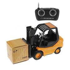 100 Toy Forklift Truck Wholesale Mini RC Fork Lift Radio Remote Control