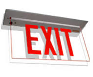 led exit sign retrofit kits bulbs and bright signs