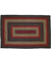 Homespice Decor Jute Rugs by Great Deal On Red And Green Braided Jute Area Rug Country Rustic
