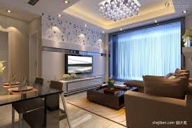 Modern Pop Ceiling Designs For Small Living Room With Dining Combo
