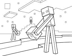 Minecraft Coloring Pages Mine Craft Survival Colouring
