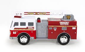 100 Tonka Mighty Motorized Fire Truck FFP Engine Walmartcom