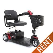 3 Wheel Travel Mobility Scooter Rental