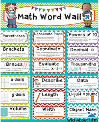 I Have Vocabulary Sets In My Store For ELA And Math Grades 3 6 As Well The Critical Verbs Of Common Core Each Set Contains ALL Words Found