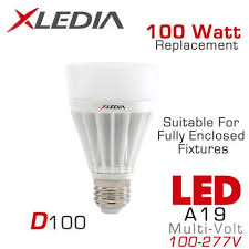 100 watt equivalent led bulbs suitable for enclosed fixtures