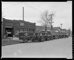 General Baking Company, 217 Walton Avenue; Exterior, Trucks (Bond ...