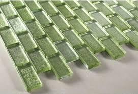 green subway tile backsplash coolest lime green glass tile