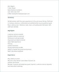 Resume Examples For Hostess Jobs With College Essay Get Into Blog Sample A