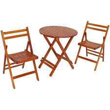 Sunnydaze 3-Piece Outdoor Folding Wood Patio Bistro Set Angels Modish Solid Sheesham Wood Ding Table Set Walnut Finish Folding Cosco Ladder Back Chair Espressoblack Of 2 Contemporary Decoration Fold Down Amusing Northbeam Foldable Eucalyptus Outdoor 4pack Details About 5pcs Garden Patio Futrnture Round Metal And Chairsmetal Chairs Excellent Service In Bulk Rental Japanese Big Lots Alinum Camping Pnic Buy Product On Mid Century Modern Danish Teak And Splendid Small Extendable Glass Full Tables Rustic Farmhouse 60 Off With Sides 7pc Granite Inlay Oval Store