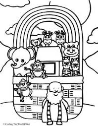 Noahs Arks Coloring Page Ark