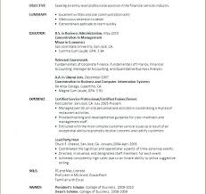 Recent College Graduate Resume No Experience Perfect For A Graphic Sample