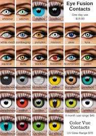 Prescription Contact Lenses Halloween Australia by Colored Contact Lenses Costume Halloween Creative Costumes
