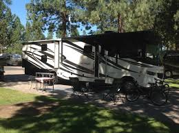 Crown Villa RV Resort Nice Wide Pad With Pavers