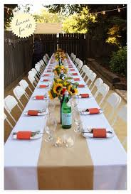 Outdoor House Warming Party Ideas