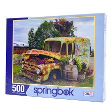 100 Wholesale Truck Parts Flower Puzzles