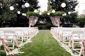 These Next Few Ideas Could Work Well At An Indoors Or Outdoors Wedding Tie Ferns In Bunches Each Row For A Woodsy Vibe Above Left
