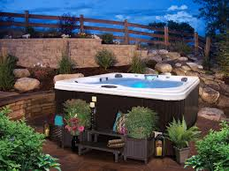 Hot Tub Landscaping For The Beginner On A Budget | Hot Tubs, Tubs ... Keys Backyard Jacuzzi Home Outdoor Decoration Fire Pit Elegant Gas Pits Designs Landscaping Ideas With Hot Tub Fleagorcom Multi Level Deck Design Tub Enchanting Small Tubs Images Spool Hot Tubpool For Downward Slope In Backyard Patio Firepit And Round Shape White Interior Color Above Ground Patios Magnificent With Inspiration House Photo Outside