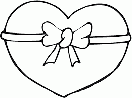Heart Shape Fresh Coloring Pages