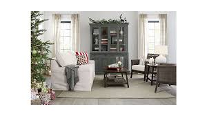 Crate And Barrel Dining Room Chairs by Blake Grey Rattan Armchair With Cushion Crate And Barrel