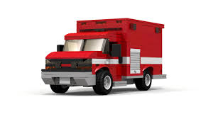 100 Lego Fire Truck Instructions LEGO Chevrolet Express Department YouTube