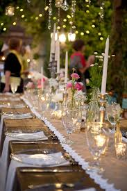 Vintage Wedding Reception Decoration Ideas Chic Style Country Rustic Food Table