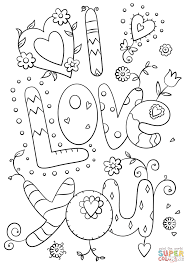 Click The I Love You Coloring Pages To View Printable Version Or Color It Online Compatible With IPad And Android Tablets