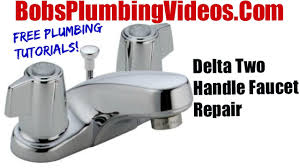 Fix Leaking Bathtub Faucet by How To Replace Delta Style Stems And Seats Cartridge Faucet