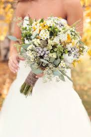 Rustic Country Real Wedding Bouquet