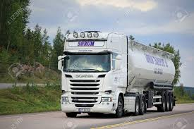 ORIVESI, FINLAND - SEPTEMBER 1, 2016: White Scania R580 Semi.. Stock ... Propane Delivery Truck Fuel Tank Car Unloading Serving The Specialized Transportation Needs Of Our Heavy Haul And Bulk Feed Body Trucks Midwest General Repair Fabrication Large Purple With Separate Trailer For Stock Filedry Bulk Truck Barney Trucking On Us 95jpg Wikimedia Commons Salo Finland January 15 2017 White Man 660 Cuft Yellow Of Equipment Digital Cement Series Wsi F Lindt Transport Volvo Fh04 Globetrotter Trailer 012493